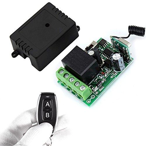 ELENKER DC 12v 10A relay 1CH wireless RF Remote Control