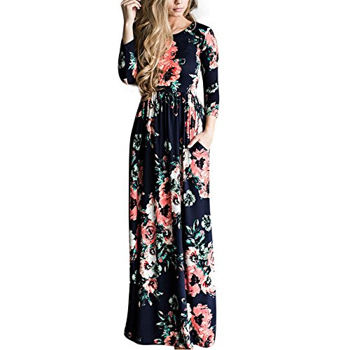 b658ac8adc4 Great floral maxi dress for birthday party and bridesmaid. Size chart is  provided. 2. Hand wash or gentle machine wash. Products sold by other  sellers are ...