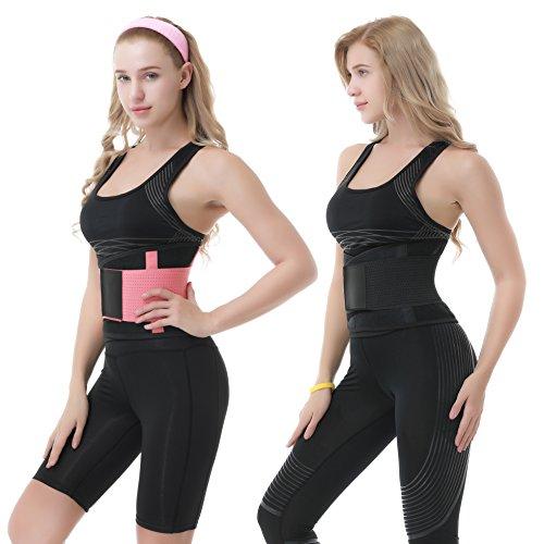 36dd926b99 Fitness Waist Cincher Trimmer Trainer Belt for Losing Weight Women Body  Shaper Workout Corset Lumbar Support