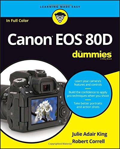 David Busch's Canon EOS 80D Guide to Digital SLR Photography – Merotx
