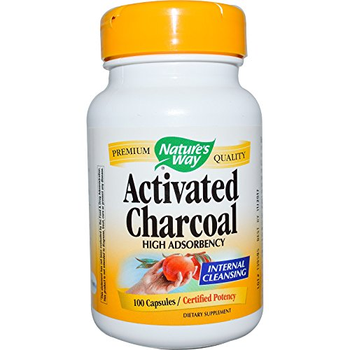 Organic Activated Charcoal Capsules, 210 Pills, Food Grade
