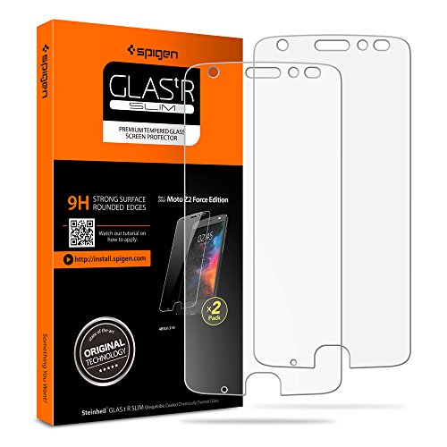 Moto z2 force screen Protector, Tempered Glass with 9H screen hardness. Easy installationdry applicaton: easy to install and removebubble-free / no residue ...