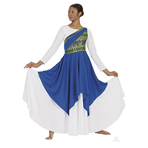 a2c1d6a1ca4b This is a truly versatile style that is great for praise outfits, gospel  choir uniforms, and/or tribal dance costumes. Joyful praise asymmetrical  Tunic for ...